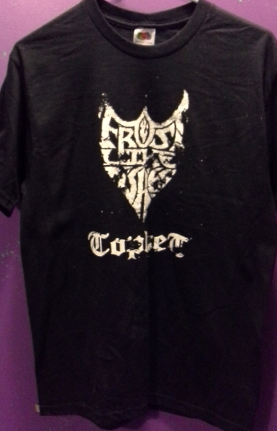 Frost Like Ashes - Tophet Tour Shirt *Medium* [SS Tee]