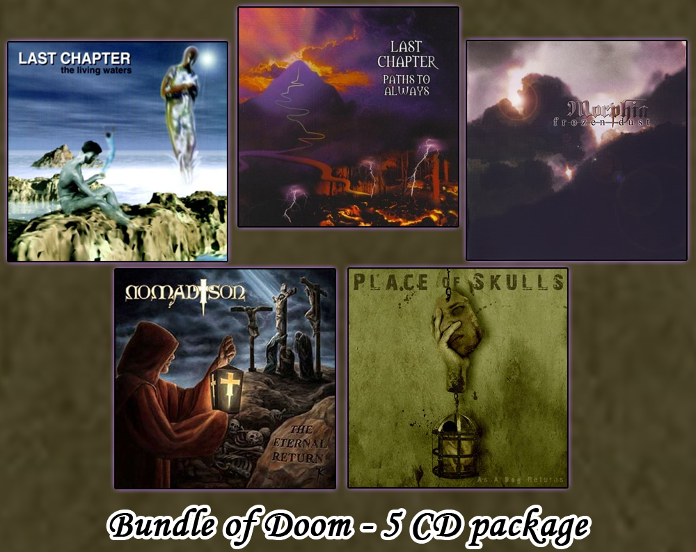 Assemby of Doom - 5 CD bundle package of classic Doom [USED]