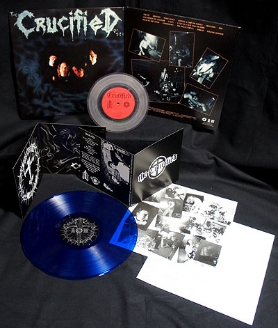 The Crucified - Nailed/Demo [2 LP Blue/Clear] Bundle