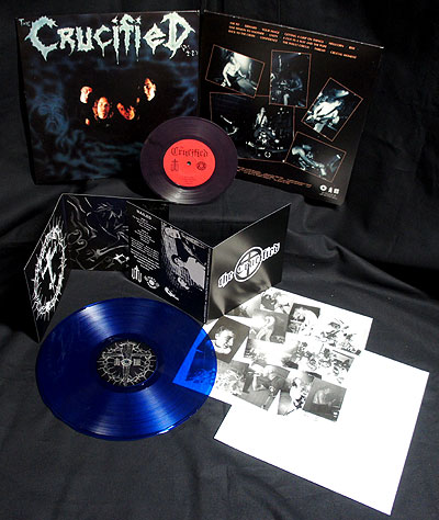 The Crucified - Nailed/Demo [2 LP Blue/Purple] Bundle