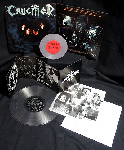 The Crucified - Nailed/Demo [2 LP Clear/Marble] Bundle