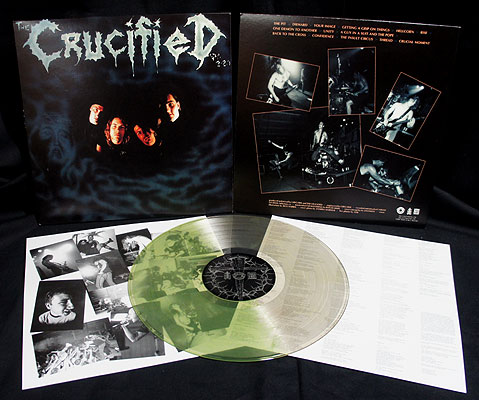 The Crucified - Demo [LP Clear-Green Splatter]