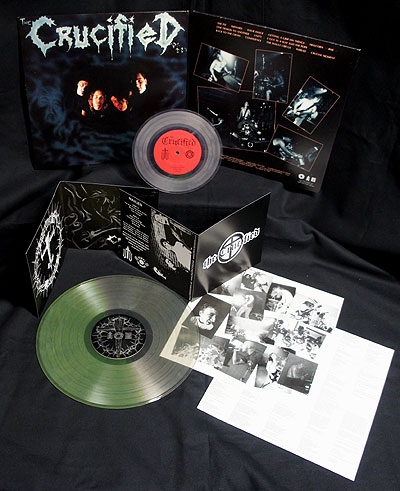 The Crucified - Nailed/Demo [2 LP Clear-Green/Clear] Bundle