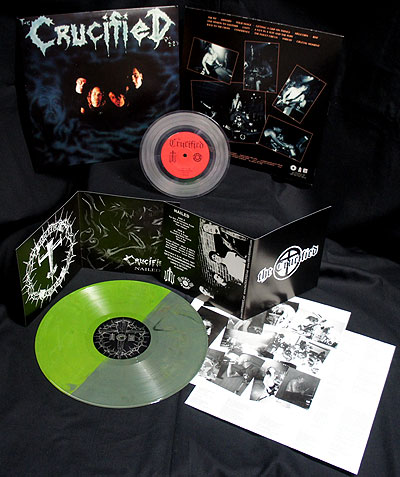The Crucified - Nailed/Demo [2 LP Green/Clear] Bundle