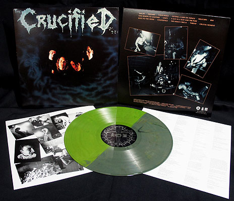 The Crucified - Demo [LP Green Splatter]