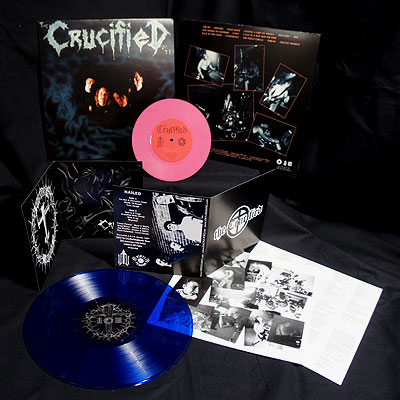 The Crucified - Nailed/Demo [2 LP Pink/Blue] Bundle