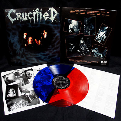 The Crucified - Demo [LP Red/Blue]